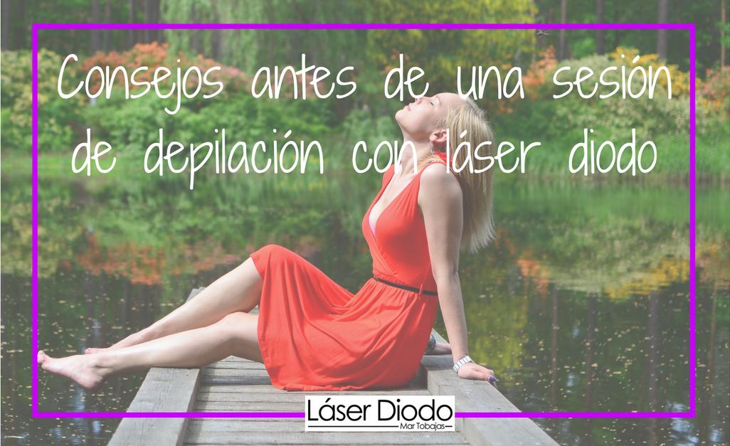 consejos antes de depilacion laser