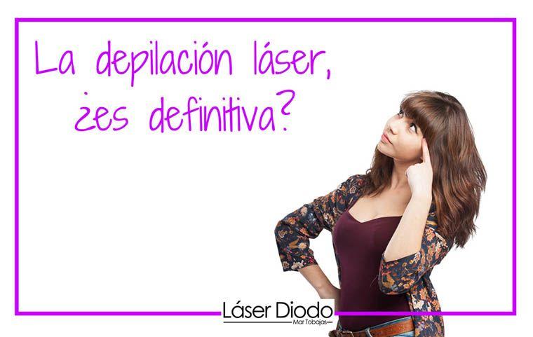 depilación láser definitiva